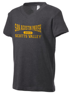 San Agustin Parish Scotts Valley Kid's V-Neck Jersey T-Shirt