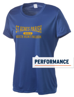 St Agnes Parish North Huntingdon Women's Competitor Performance T-Shirt
