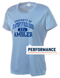 St Anthony of Padua Parish Ambler Women's Competitor Performance T-Shirt