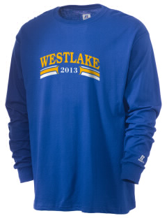 St Bernadette Church Westlake  Russell Men's Long Sleeve T-Shirt
