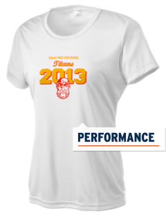 Tinley Park High School Titans Women's Competitor Performance T-Shirt