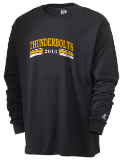 Andrew High School Thunderbolts  Russell Men's Long Sleeve T-Shirt