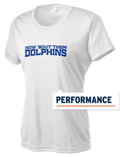 Virginia Lake Elementary School Dolphins Women's Competitor Performance T-Shirt