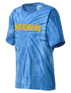 St Joseph Parish (Hispanic) Mason Kid's Tie-Dye T-Shirt