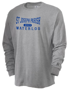 St Joseph Parish Waterloo  Russell Men's Long Sleeve T-Shirt