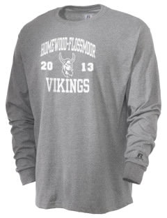 Homewood-Flossmoor High School Vikings  Russell Men's Long Sleeve T-Shirt