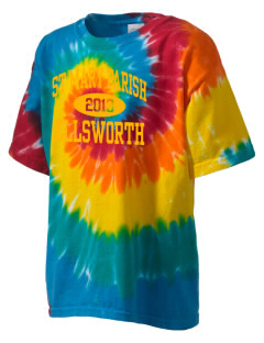 St Mary Parish Ellsworth Kid's Tie-Dye T-Shirt