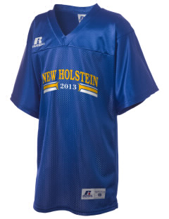 St Mary Parish New Holstein Russell Kid's Replica Football Jersey