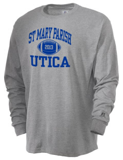 St Mary Parish Utica  Russell Men's Long Sleeve T-Shirt