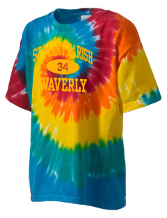 St Mary Parish Waverly Kid's Tie-Dye T-Shirt