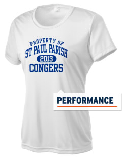 St Paul Parish Congers Women's Competitor Performance T-Shirt