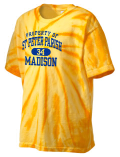 St Peter Parish Madison Kid's Tie-Dye T-Shirt