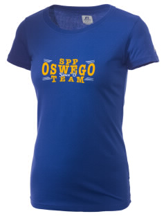 St Peter Parish Oswego  Russell Women's Campus T-Shirt