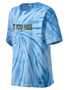 St Peter Parish Somerset Kid's Tie-Dye T-Shirt