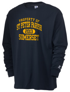 St Peter Parish Somerset  Russell Men's Long Sleeve T-Shirt