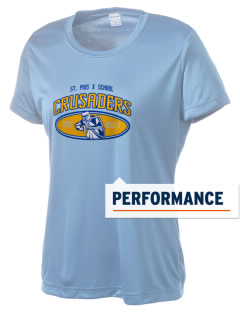 St. Pius X School Crusaders Women's Competitor Performance T-Shirt