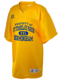 St Stanislaus Parish Birmingham Russell Kid's Replica Football Jersey