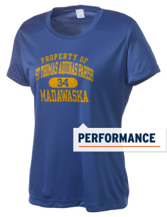 St Thomas Aquinas Parish Madawaska Women's Competitor Performance T-Shirt