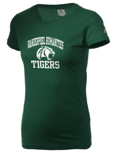 Vanderpoel Humanities Academy Tigers  Russell Women's Campus T-Shirt