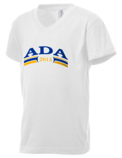 St. Robert of Newminster Parish Ada Kid's V-Neck Jersey T-Shirt