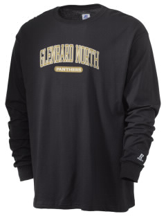 Glenbard North High School Panthers  Russell Men's Long Sleeve T-Shirt