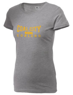 Coal City High School Coalers  Russell Women's Campus T-Shirt