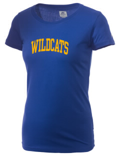 State University of New York Utica Wildcats  Russell Women's Campus T-Shirt