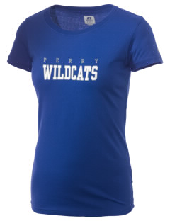Perry Elementary School Wildcats  Russell Women's Campus T-Shirt