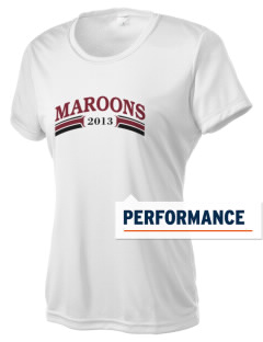 Elgin High School Maroons Women's Competitor Performance T-Shirt
