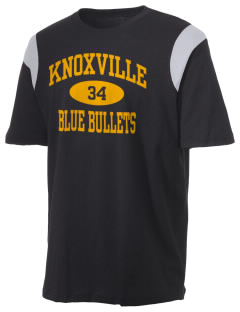Knoxville High School Blue Bullets Holloway Men's Rush T-Shirt