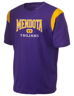 Mendota Township High School Trojans Holloway Men's Rush T-Shirt