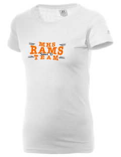 Manual High School Rams  Russell Women's Campus T-Shirt