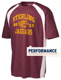 Sterling Middle School Jaguars Men's Dry Zone Colorblock T-Shirt