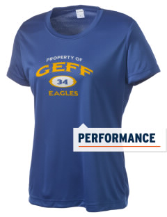 Geff Elementary School Eagles Women's Competitor Performance T-Shirt