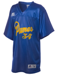 Northridge Academy High School Pumas Russell Kid's Replica Football Jersey