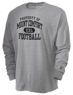 Mount Comfort Elementary School Mounties  Russell Men's Long Sleeve T-Shirt
