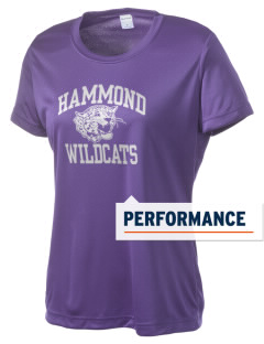 Hammond High School Wildcats Women's Competitor Performance T-Shirt
