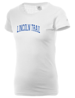 Lincoln Trail Elementary School Trail Blazers  Russell Women's Campus T-Shirt