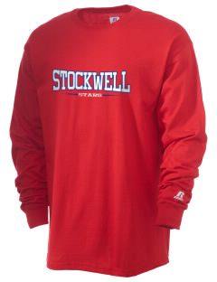 Stockwell Elementary School Stars  Russell Men's Long Sleeve T-Shirt