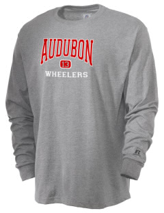 Audubon High School Wheelers  Russell Men's Long Sleeve T-Shirt