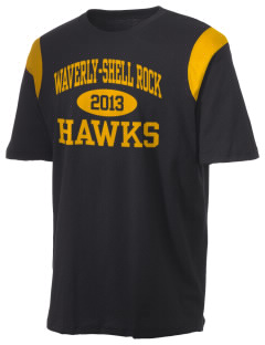 Waverly-Shell Rock Junior High School Hawks Holloway Men's Rush T-Shirt