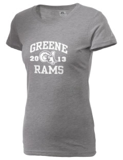 Greene Elementary School Rams  Russell Women's Campus T-Shirt
