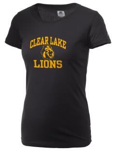 Clear Lake Junior High School Lions  Russell Women's Campus T-Shirt