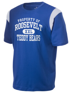 Roosevelt Elementary School Teddy Bears Holloway Men's Rush T-Shirt