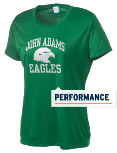 John Adams Middle School Eagles Women's Competitor Performance T-Shirt
