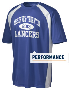 Meservey-Thornton School Lancers Men's Dry Zone Colorblock T-Shirt