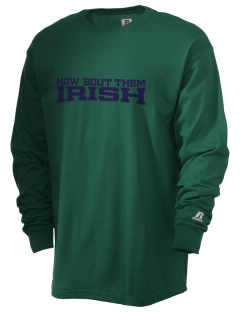 St. Patrick Catholic High School Irish  Russell Men's Long Sleeve T-Shirt