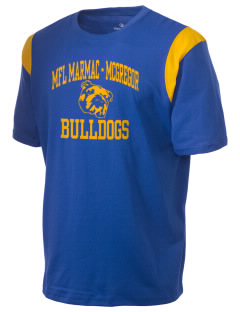 MFL MarMac School - McGregor Center Bulldogs Holloway Men's Rush T-Shirt