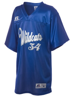 Lyons Middle School Wildcats Russell Kid's Replica Football Jersey