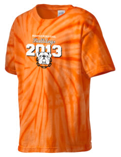Mediapolis Middle School Bulldogs Kid's Tie-Dye T-Shirt